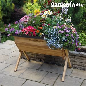 Garden Grow Raised Large Wooden Planter