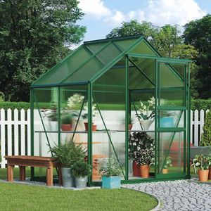 Garden Grow 6.2 x 4.3ft Greenhouse